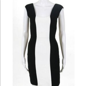 Black and White BCBG DRESS